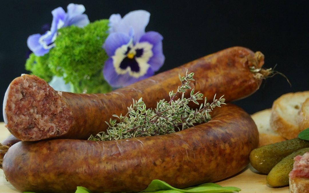 Beef & Mustard Sausage